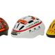 「消防車」「救急車」「ショベルカー」デザインの子供用ヘルメットを発売。
