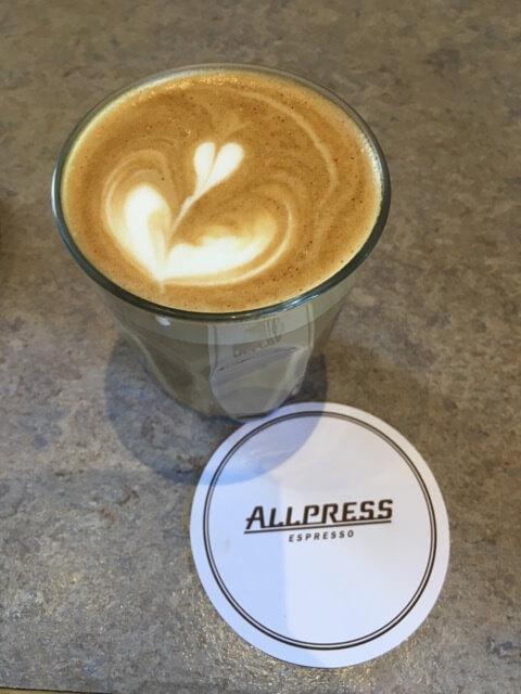 オールプレス エスプレッソのコーヒー,清澄白河,おしゃれ,カフェ