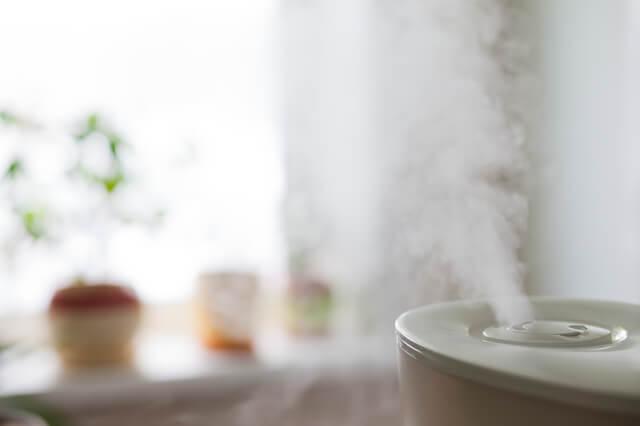 加湿器でウィルスを駆除,インフルエンザ,ノロ,予防法