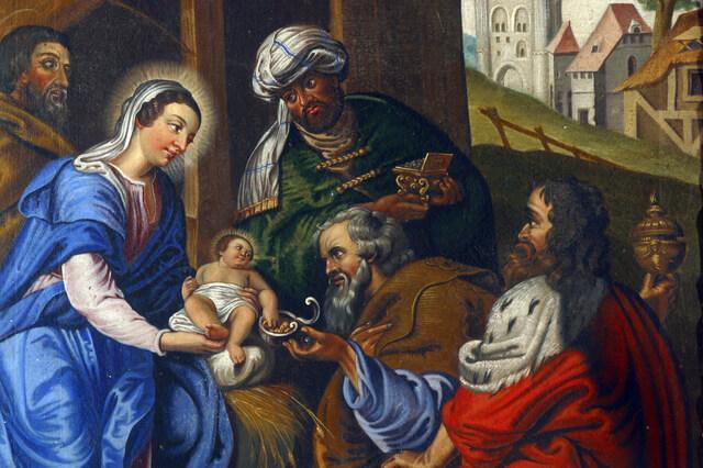 東方の三博士※画像はイメージです,ガレット・デ・ロワ,新年,フランス