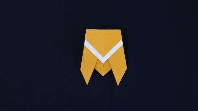 ハート 折り紙 折り紙 セミ 簡単 : feature.cozre.jp
