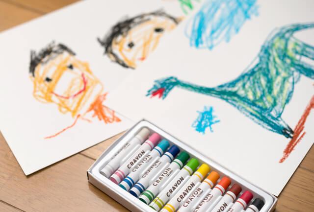 小学校受験の問題回答に用意するもの,小学校受験,絵画,折り紙