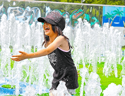 清水公園,じゃぶじゃぶ池,千葉県,公園