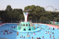 あらかわ遊園,東京,幼児,プール