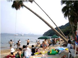 能古島海水浴場,福岡,海水浴場,子連れ