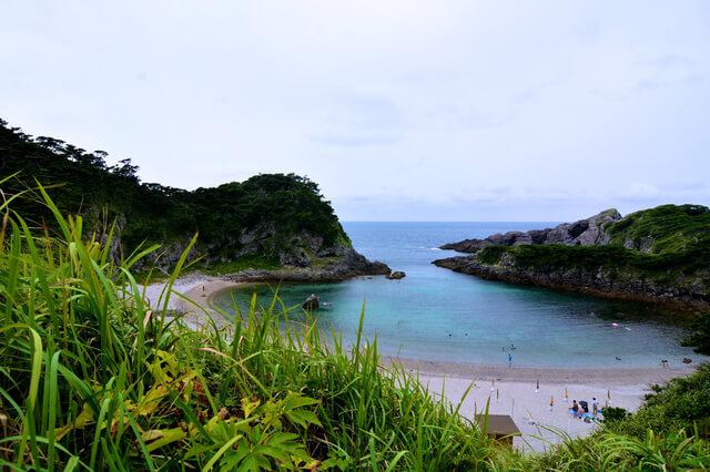 泊海水浴場,東京都,海水浴,島