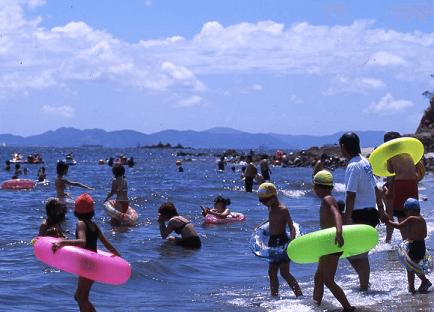 三河大島海水浴場,海水浴場,愛知県,人気
