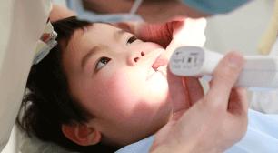 歯科検診を受ける子ども,3歳,虫歯,予防
