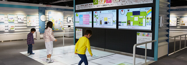 東芝未来科学館フューチャーゾーン,宇宙,神奈川県,プラネタリウム
