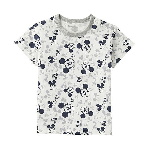 ディズニープロジェクトグラフィックT,ユニクロ,キッズ,Tシャツ