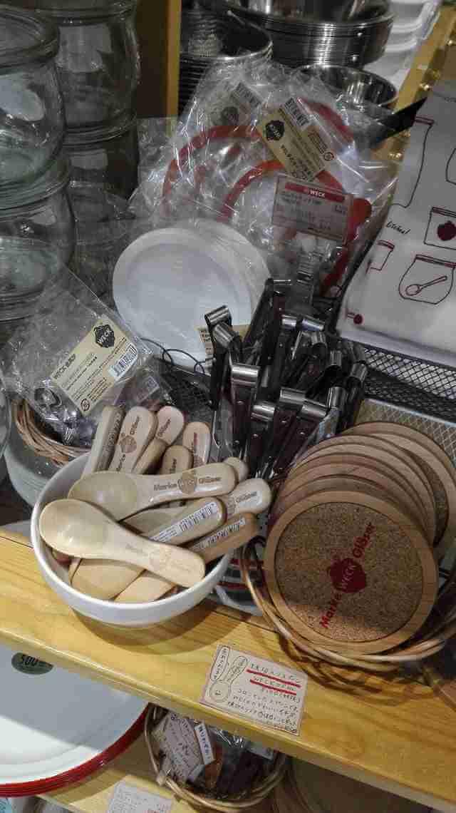 ナチュラルキッチンに並ぶWECK商品,ナチュラルキッチン,WECK,