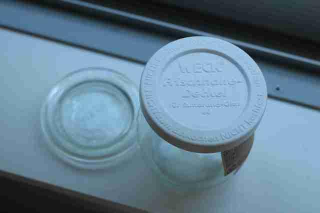 WECKのプラスチックカバー使用例,ナチュラルキッチン,WECK,