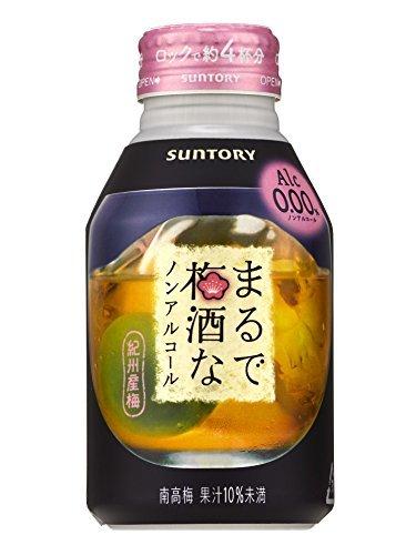 サントリー まるで梅酒なノンアルコール 280ml×24本,ノンアルコール,飲料,おすすめ