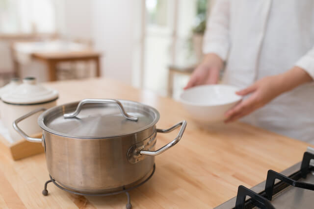 料理中の鍋,妊娠初期,アルコール,