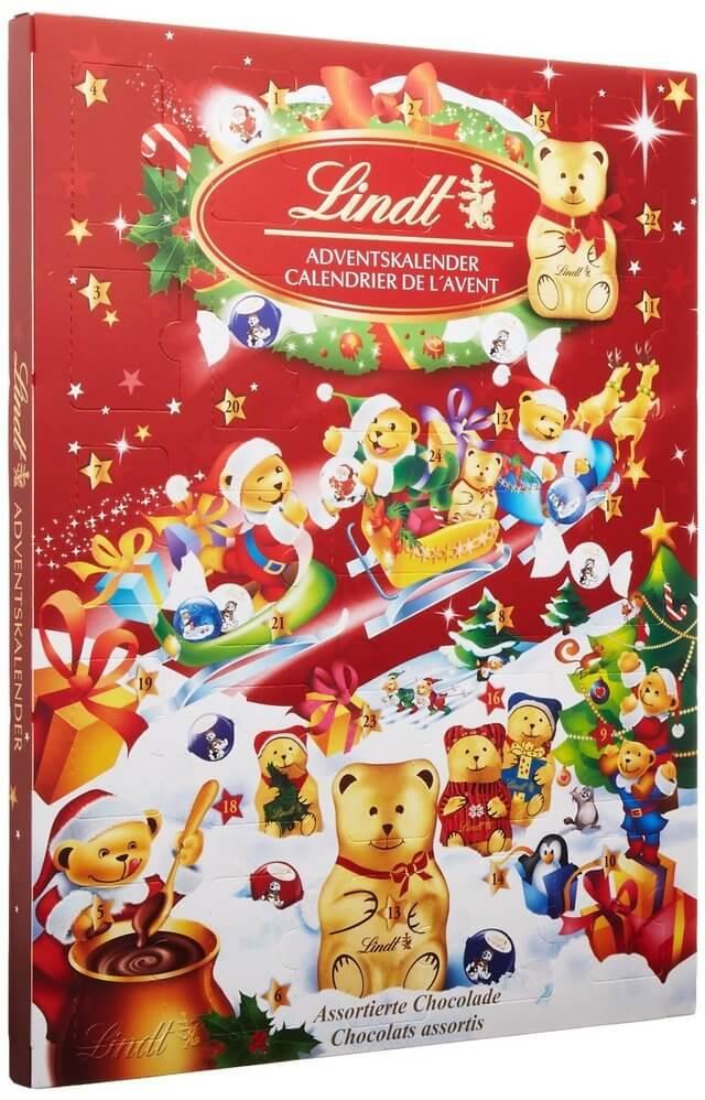 リンツ クリスマス アドベントカレンダー ,クリスマス,アドベントカレンダー,お菓子
