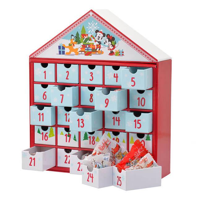アドベントカレンダー Wonderland Christmas ミッキー&フレンズ,クリスマス,アドベントカレンダー,お菓子