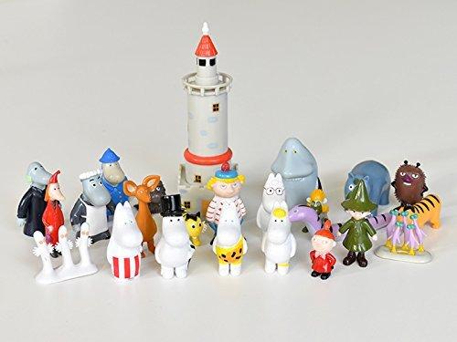 Moomin ムーミン クリスマス フィギュア アドベント カレンダー (24個セット / 2015),クリスマス,アドベントカレンダー,お菓子