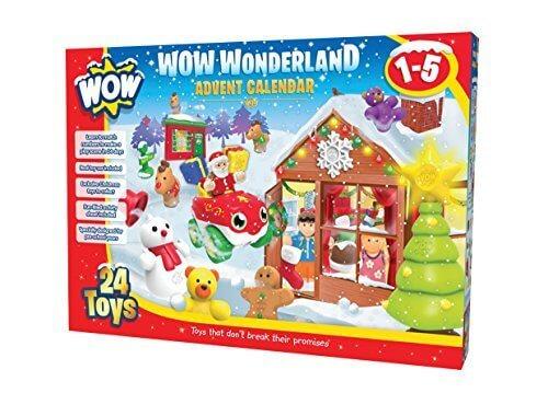 WOW Toys 【働く乗り物】アドベント・カレンダー ワンダーランド TYWT10430,クリスマス,アドベントカレンダー,お菓子