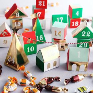 MeriMeri アドヴァントカレンダー,クリスマス,アドベントカレンダー,お菓子