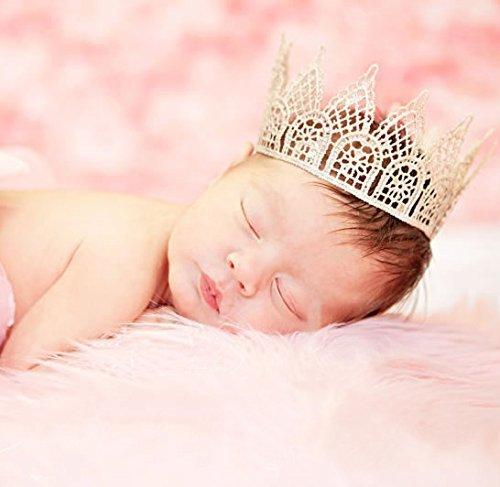 ベビークラウンティアラ☆超軽量素材がスリーピングベビーフォトにばっちり!人とは違ったおしゃれなベビー写真を撮りたいママさんに選ばれています新生児ベビーからハーフバースデー&お誕生日のスタジオ写真撮影アイテム★,ベビー,ヘッドアクセ,