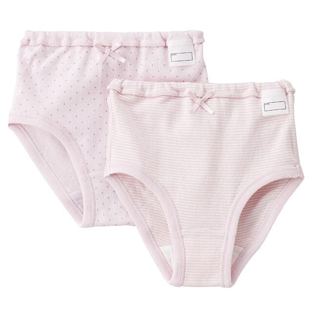 肌あたりがやさしいショーツ ピンク系,無印,下着,
