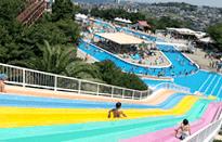 みさき公園ぷーるらんどRiOウォータースライダー,子ども,ウォータースライダー,大阪