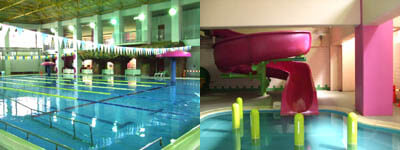 和泉市温水プール サン燦プール,子ども,ウォータースライダー,大阪