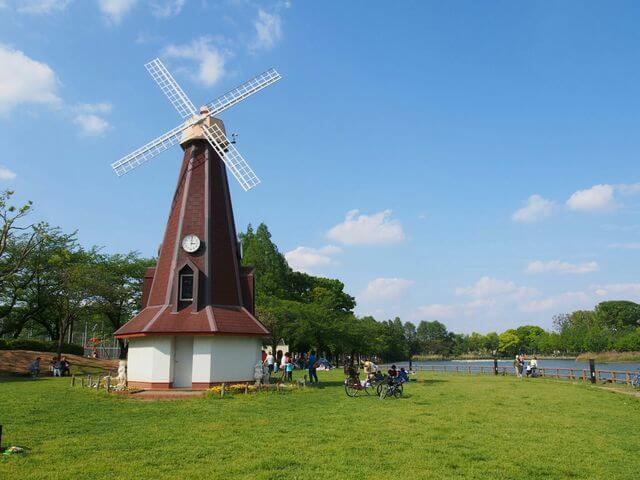 浮間公園 ピクスタ,公園,水遊び,東京
