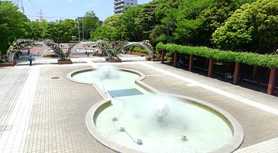 江戸川区総合レクリエーション公園,公園,水遊び,東京