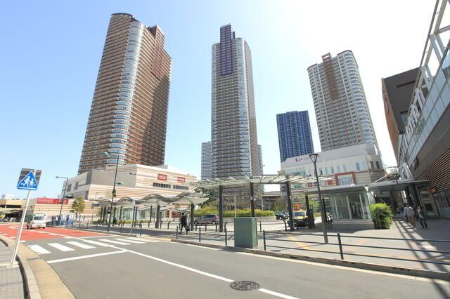 武蔵小杉駅のイメージ,パークシティ,武蔵小杉,