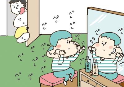 謎の音3,まんが,育児マンガ,育児