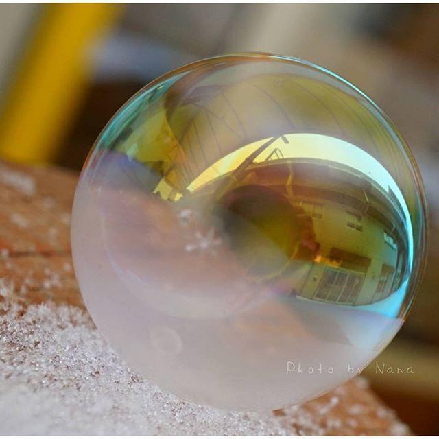 凍るシャボン玉,自由研究,簡単,小学生