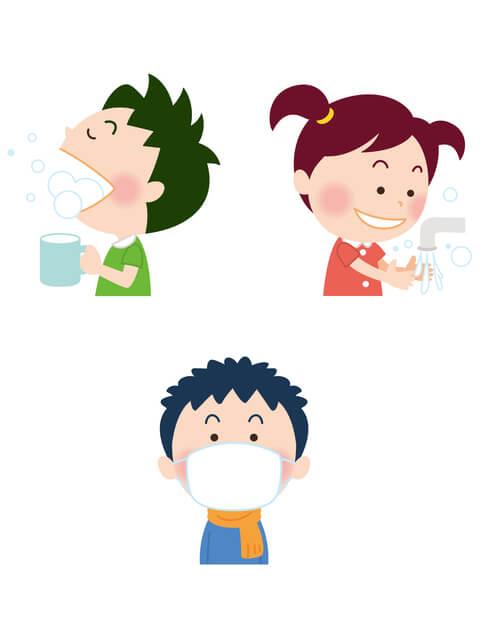 手洗いうがいマスク,プール熱,症状,