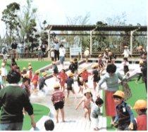 中原平和公園,公園,水遊び,神奈川