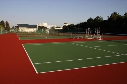 テニスコート,ふなばし三番瀬海浜公園,
