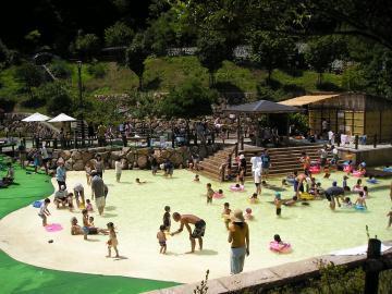 西山公園のジャブジャブ池(親水池),京都,おすすめ,スポット