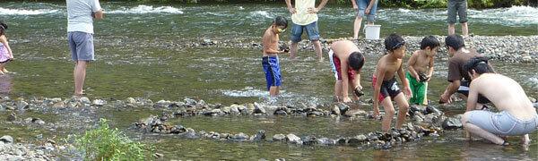 宇津峡公園の水遊び,京都,おすすめ,スポット
