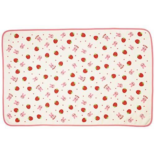 ミキハウス ホットビスケッツ(MIKIHOUSE HOT BISCUITS) ガーゼパイルのポータブルタオルケット ピンク,出産祝い,タオルケット,