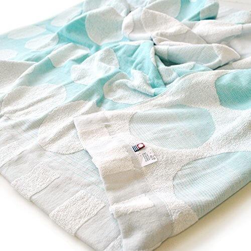 ブルーム 今治産 うたたねタオルケット シングル (ブルー),出産祝い,タオルケット,