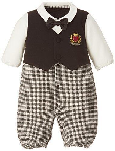 ニシキ Tino Tino ティノティノ フォーマル新生児ツーウェイオール P5254 50-60cm ブラック,出産,退院,服装