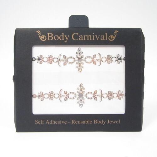 BC bodyjewel rf02-silver,ハロウィン,仮装,グッズ