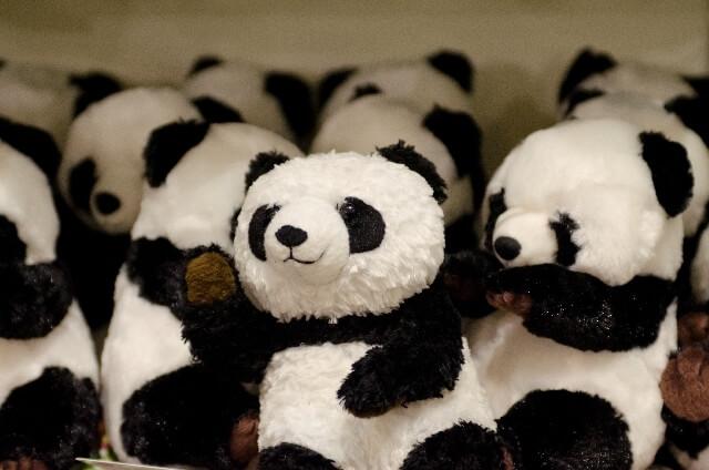 パンダのぬいぐるみ,出産祝い,ぬいぐるみ,