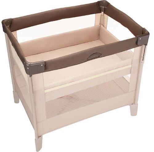 アップリカ ココネル ココア ポータブル ベビーベッド (持ち運び キャスター&収納袋付き) 66041,ベビーベッド,赤ちゃん,睡眠