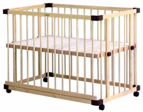 ファルスカ farska ベッドサイド ベッド 03 746050 【工具不要】組み立て簡単! 9段階の高さに調節可能 ママと目線をあわせて 添い寝 ができるベビーベッド,ベビーベッド,赤ちゃん,睡眠