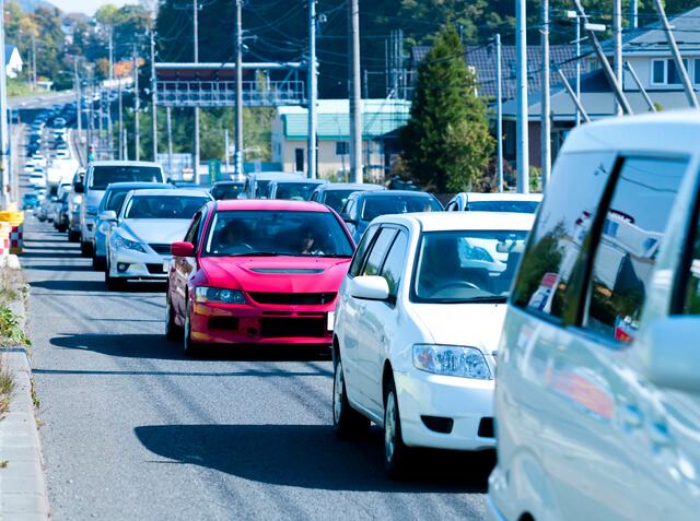 渋滞,長距離ドライブ,