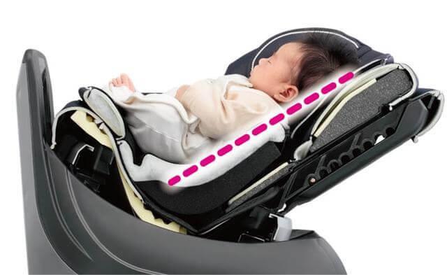 クルムーヴ ベッド,チャイルドシート,新生児,おすすめ