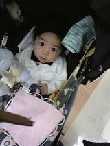 エッグショック素材のベビーカーに乗る赤ちゃん,コンビ,マルチ5ウェイ,