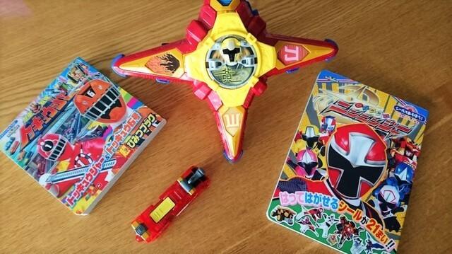 絵本電車手裏剣型おもちゃ,ジュウオウジャー,おもちゃ,