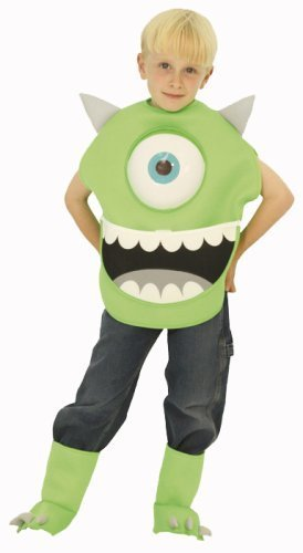 ディズニー モンスターズインク マイク キッズコスチューム 男の子 80cm-100cm 802534T,ハロウィン,ディズニー,