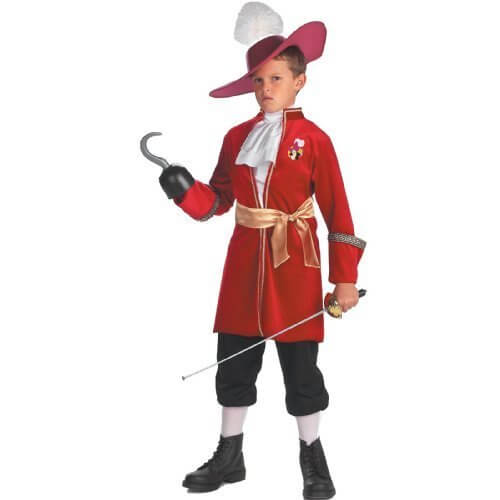 フック船長 コスチューム ディズニー 子供 衣装 コスプレ ピーターパン 海賊 悪者 悪役 男の子 ヴィランズ 悪役 XSサイズ,ハロウィン,ディズニー,